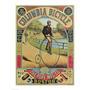 Propaganda Para O Columbia Bicicleta Poster Impressão