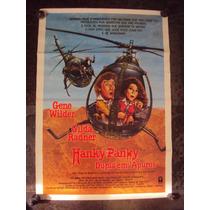 Cartaz Hanky Panky Dupla Em Apuros Gene Wilder Poster Foto
