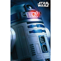 Poster (61 X 91 Cm) Star Wars - R2-d2 Profile