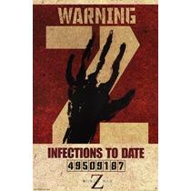 Poster (61 X 91 Cm) World War Z - Warning