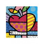 Poster (28 X 36 Cm) The Apple Romero Britto