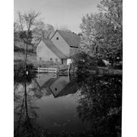 Eua Vermont Pomfret Fazenda Casa Por Lagoa Poster