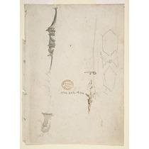 Fragmentário Sketches De Vário Ornamento Poster