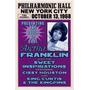 Aretha Franklin Nyc 1968 Poster Impressão