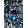 Poster (91 X 61 Cm) Fc Barcelona Lionel Messi Collage