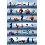 Poster (56 X 86 Cm) Disney Infinity - Phase 1 Grid