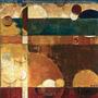 Poster (64 X 64 Cm) Converging Energy I Julie Havel