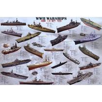 Poster (91 X 61 Cm) World War Ii War Ships Anonymous