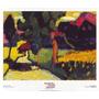 Poster (60 X 50 Cm) Paesaggio Estivo Murnau 1909 Wassily