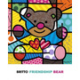 Poster (41 X 51 Cm) Friendship Bear Romero Britto