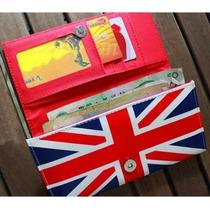 Carteira Feminina Estilo Bandeira Inglaterra !