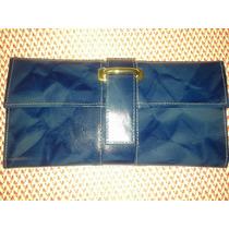Carteira Porta Cheque Executiva Feminina Ref 9340-a Marinho