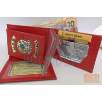 Porta Cartão Feminino Advogada Oab Com Brasão Republica C64v