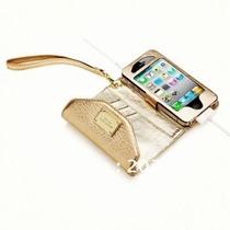 Carteira Case Michael Kors Iphone 5 Pronta Entrega-na Caixa