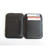Carteira Magica Porta Cartão E Dinheiro Em Couro Legítimo