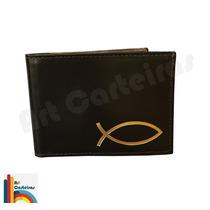 Carteira Porta Notas Logo Evangélico (dourado)