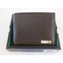 Carteira De Couro Tommy Hilfiger Bifold + Cardcase
