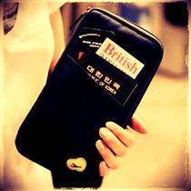 Porta Passaporte Documentos Dinheiro Cartões + Brinde!!!
