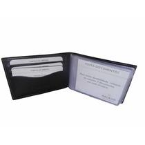 Carteira Relevo Couro Porta Cartão/ Documentos/moedas-1128