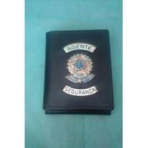 Carteira Porta Notas Agente Segurança - Mod. A