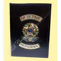 Porta Notas Investigador Ou Detetive Profissional/particular