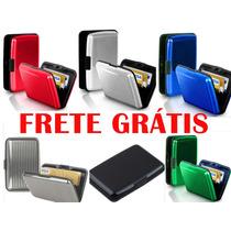 Carteira Porta Cartões De Crédito Frete Grátis