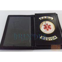 Porta Funcional Distintivo Samu P/ Médica Frete Grátis P147p