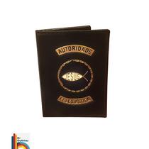 Carteira Porta Funcional Autoridade Eclesiástica (preta)