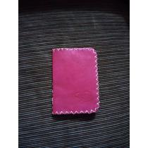 Carteira Porta Documentos E Cartões Costura À Mão Artesanal