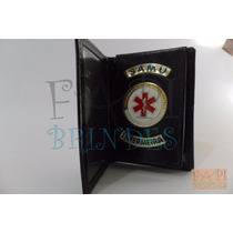 Porta Funcional Distintivo Samu Enfermeira Frete Gráti P145p