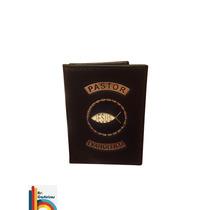 Carteira Porta Funcional Pastor Evangélico (preta)