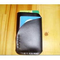 Porta Cartão Cnh Mini Carteira Em Couro Legítimo Artesanal