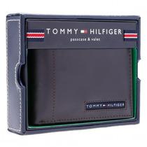 Carteira Tommy Hilfiger Ranger Passcase Marrom