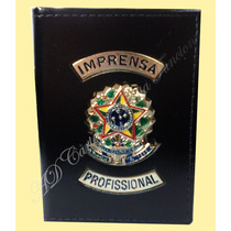 Carteira Porta Notas Imprensa Profissional Ou Jornalista