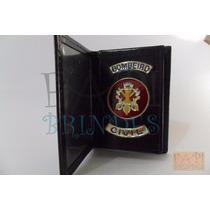 Porta Funcional Distintivo Bombeiro Civil Frete Grátis P22p