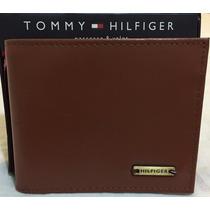 Carteira Masculina Tommy Hilfiger Original Modelos Em Couro