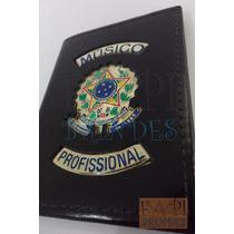 Porta Funcional Musico Profissional - Omb Ordem Do Brasil