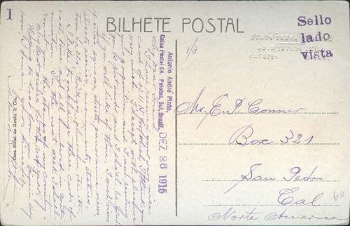 Cartão Postal - Pelotas/rs