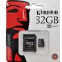 Cartão Memória Micro Sd 32gb Lacrado Original Tablet Celular