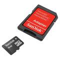 Cartão De Memoria Micro Sd 04 Gb Com Adaptador Sd Sandisk