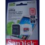 Cartão De Memória Sandisk 16 Gb Micro Sd 2x1 Classe 10