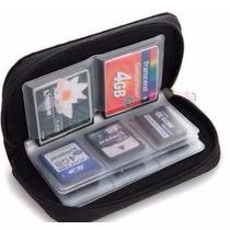 Porta Cartão Memoria Sd Cf Flash Estojo Case Bolsa Capa P56