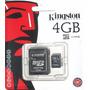 Cartão Memória Micro Sd 4gb Lacrado Original 10 Unidades