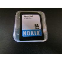 Cartão De Memória Mmc Nokia 64mb Multmedia Card Ùltimaspeças