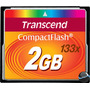 Cartão Memória Compact Flash Transcend 2gb 133x 20mb/s Cf