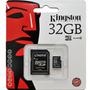Cartão Memória Micro Sd 32gb Lacrado Original + Frete Gratis