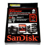 Cartão Sdhc 16gb Sandisk Extreme 45mb/s Classe 10 Fullhd Uhs