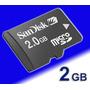 Cartão Memória Micro Sd 2gb P/ Celular/mp15- Como Card Sdhc