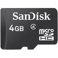 Cartão De Memória Micro Sd Sdhc 4gb Sandisk Classe 4 Celular