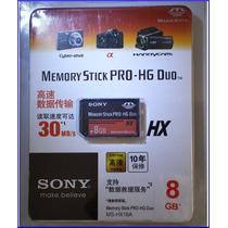 Cartão Sony Memory Stick Pro-hg Duo Hx 8gb. Psp E Cameras